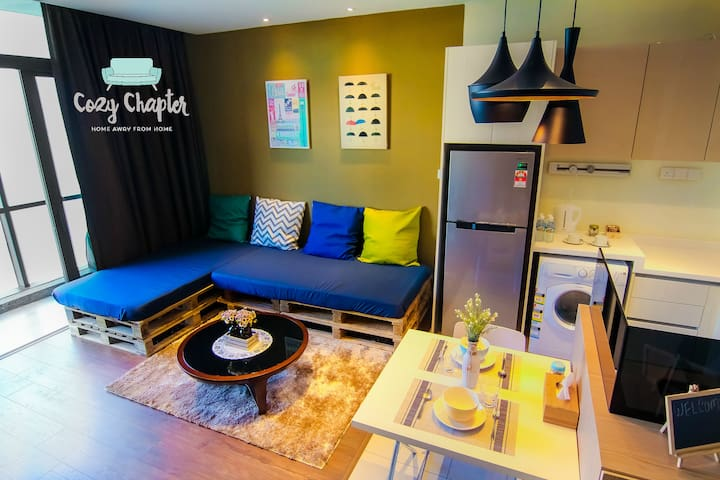 Cozy Space + WiFi (Close to IMAGO) 4~5 Guests