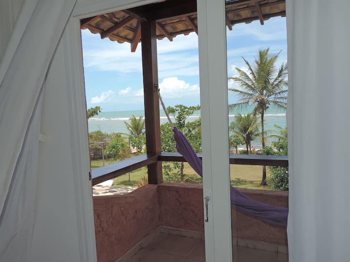 Casa frente o mar Arraial d'Ajuda praia da Pitinga