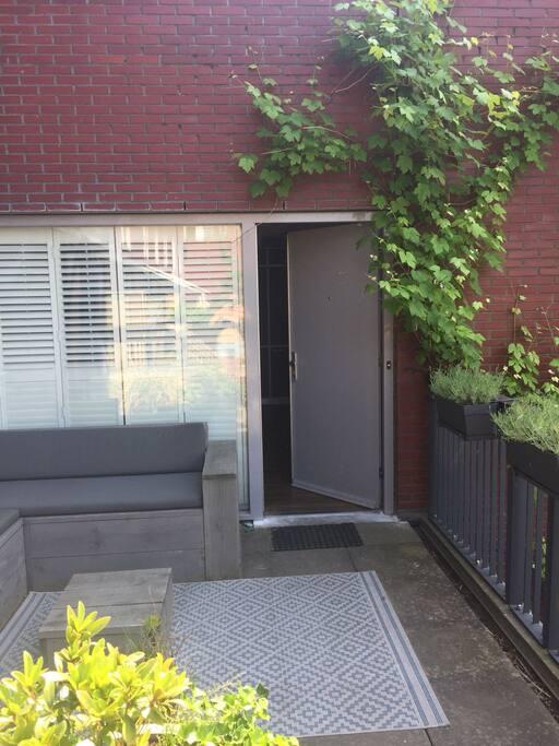 Frontdoor terrace