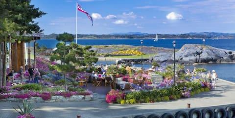 Idyllisk øy utenfor Stavanger