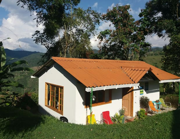 Inspiring house in the coffee mountains - Vereda LA LINDA - House