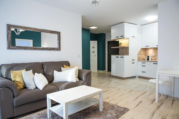 Mokotów Premium Apartment with Terrace