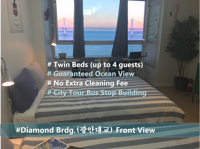 (Ocean Front) #Twin Beds_ENG Fluent - Suyeong-gu - Apartment