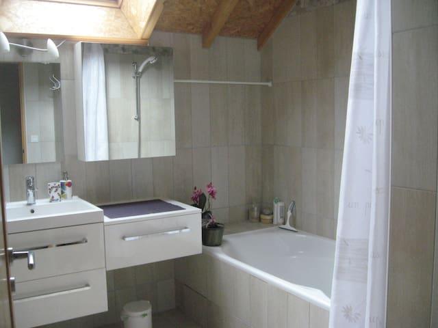 Salle de bain privée.