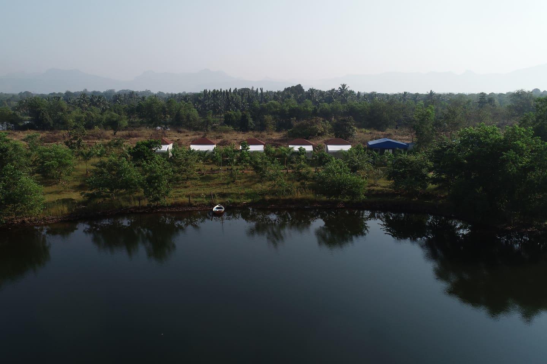Cottages & Tents Long view