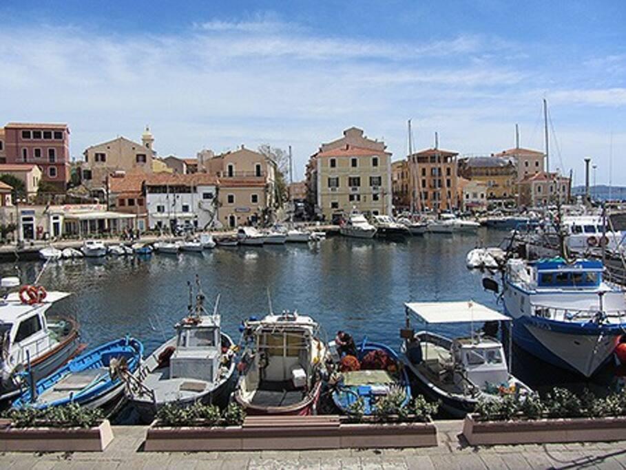 Cala gavetta Harbour