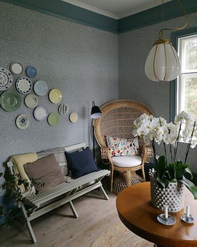 Ena vardagsrummet