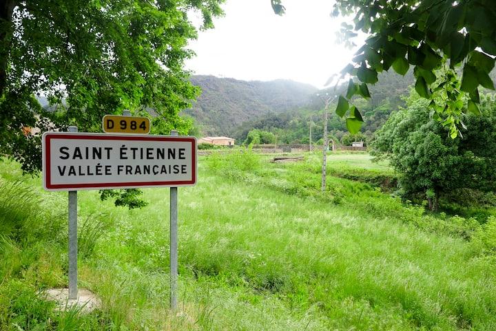 Maison de village dans les Cevennes ,