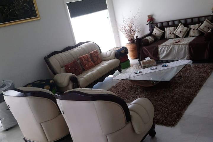 Attahed Lounge area