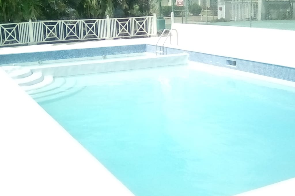 Shared Swimming Pool- completely refurbished in July