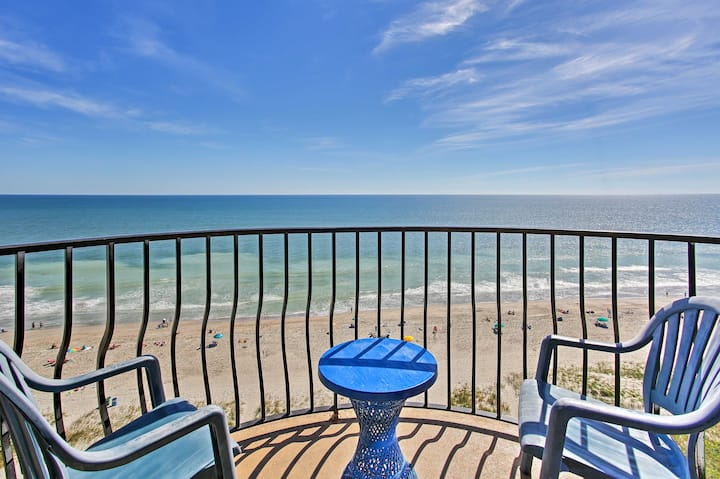 Oceanfront Condo w/Views: #1 Myrtle Beach Location