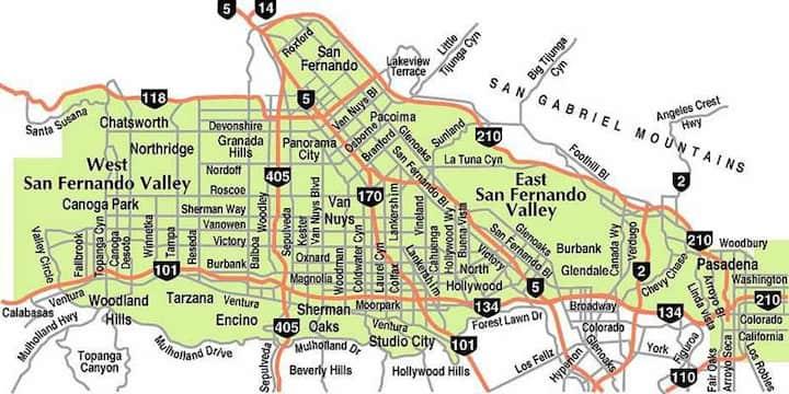 Great 1 bed unit Los Angeles /San Fernando Valley