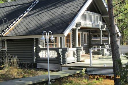 Villa Helge, rauhaa kaipaavalle järven rannassa
