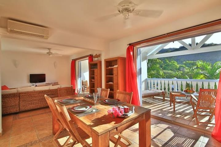 Beautiful apartment in Anse Marcel !