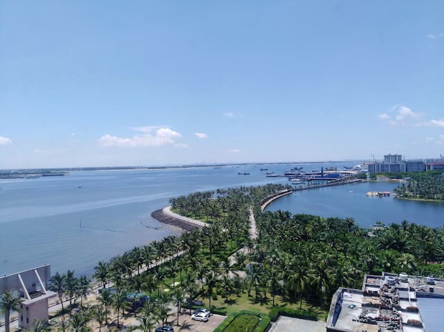 环绕三大公园,观海长廊,渔港公园,海滨公园海边公寓