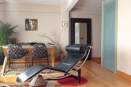Habitación doble , tranquila y soleada con Wifi - Erandio