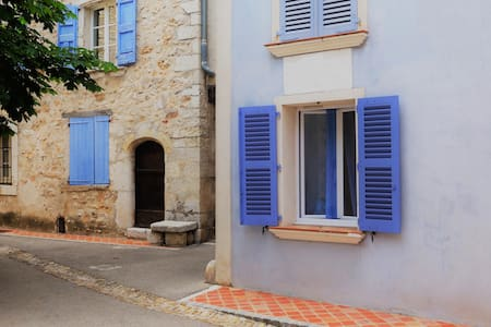In Quinson, provencal village close to the Verdon
