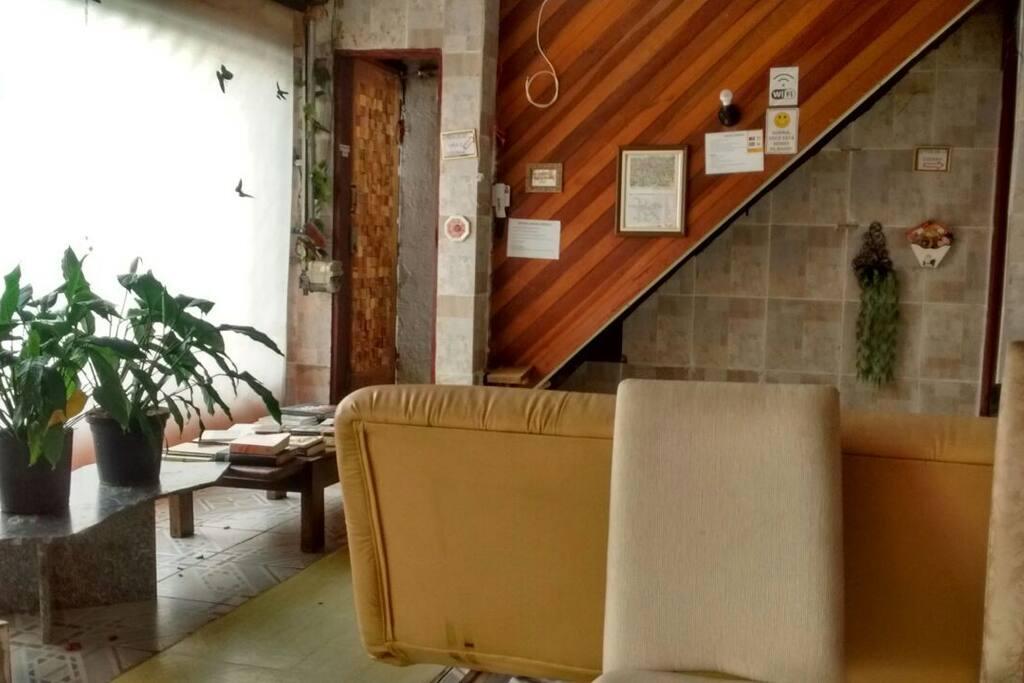 Lounge/ biblioteca