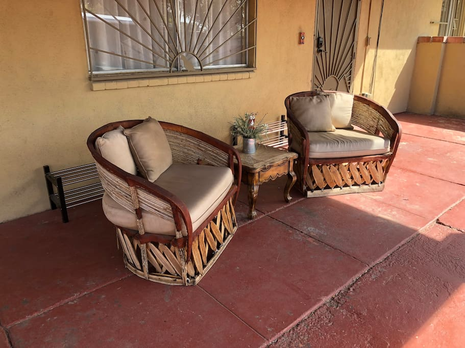 One of the many sitting areas found around the home.