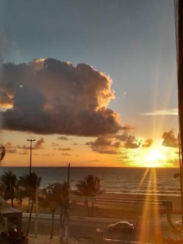 """Apartamento inteiro Beira mar da praia de Piedade"""""""