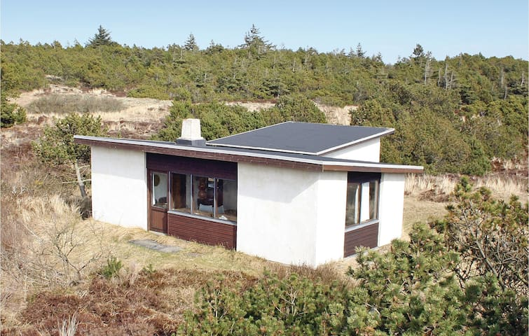 Holiday cottage with 2 bedrooms on 55m² in Nørre Nebel