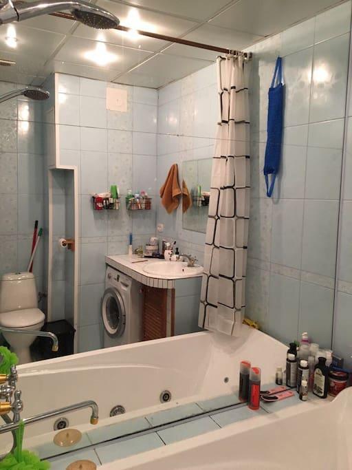 Ванная+ сан узел