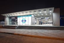 Woolwich Arsenal DLR Station Entrance