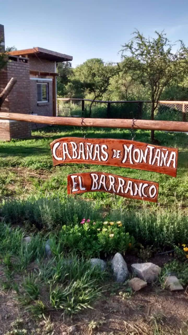 Cabañas de montaña El Barranco 2 rosa