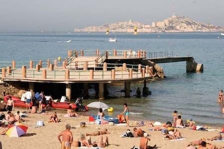 studio beach/vieux port - Marseille - Condominium
