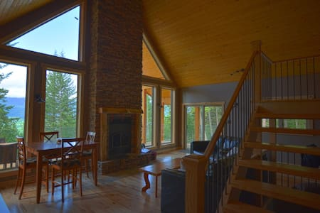 Mountain Home with Amazing View - Golden - Casa