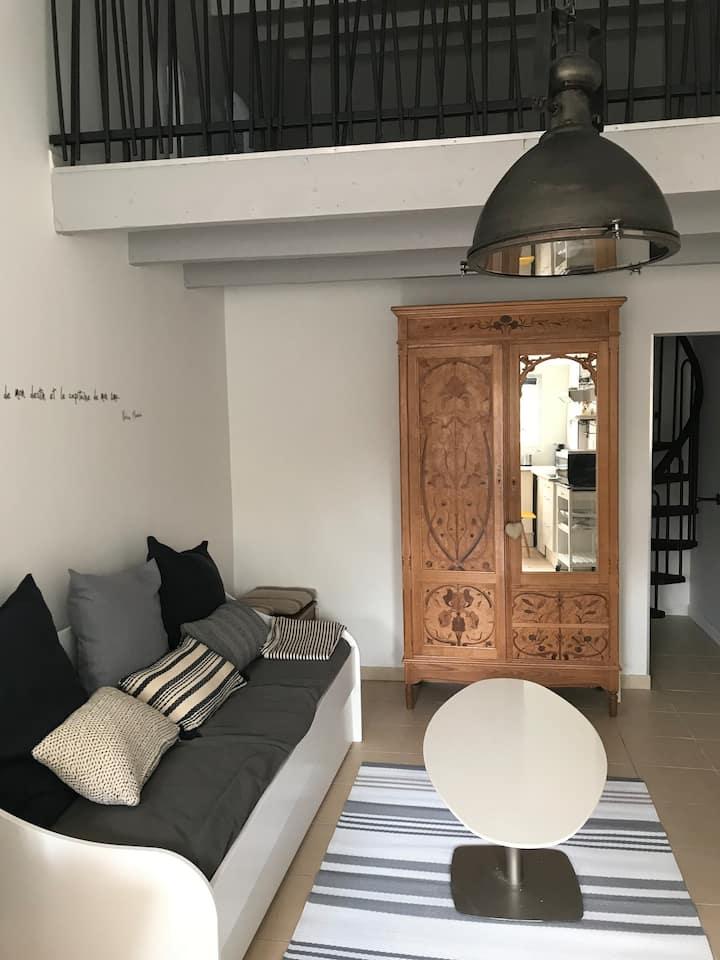 Studio aux portes de La Rochelle