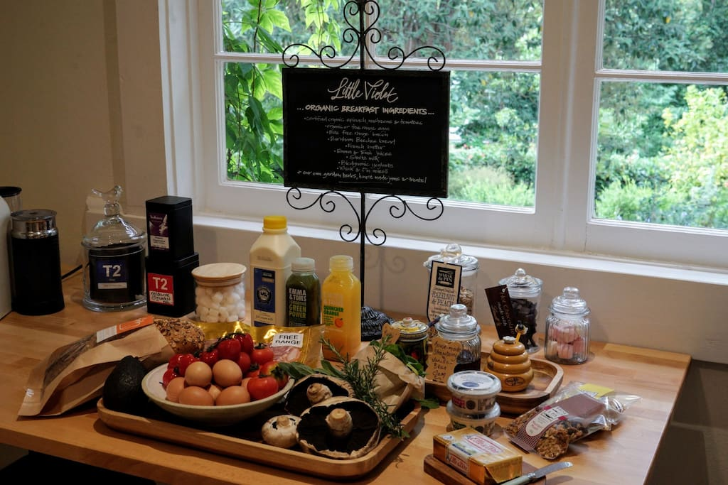 Full breakfast - all organic!