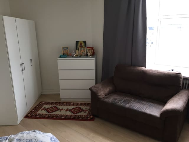 Fully furnished room in Centre of Esbjerg.