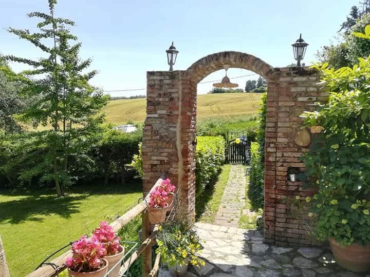 Esclusiva casa country chic in antico borgo umbro