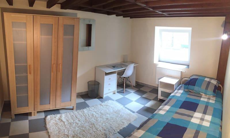 Belle chambre proche de la gare des Guillemins (4)