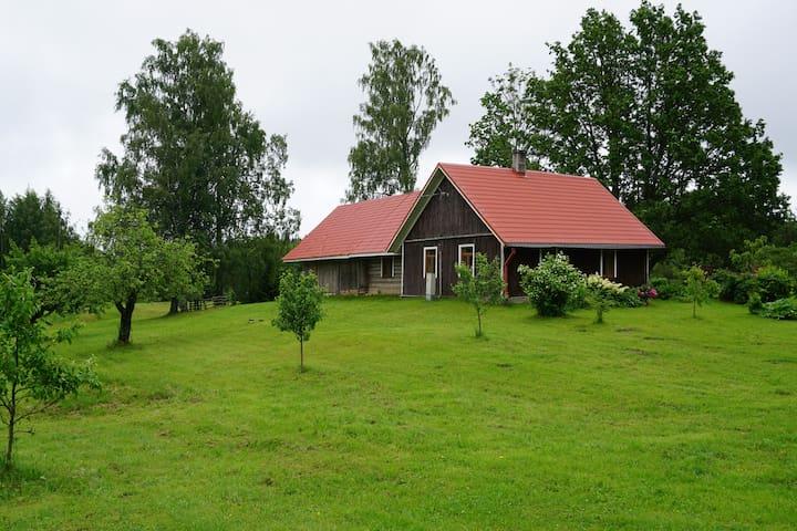 Kullipera Holiday House in beautiful Haanja