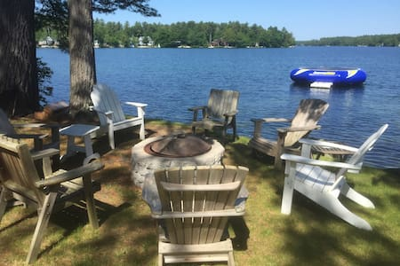 Winnipesaukee waterfront in Wolfeboro - Wolfeboro - House