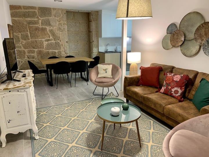 Duplex acogedor en Rúa Real de Pontevedra