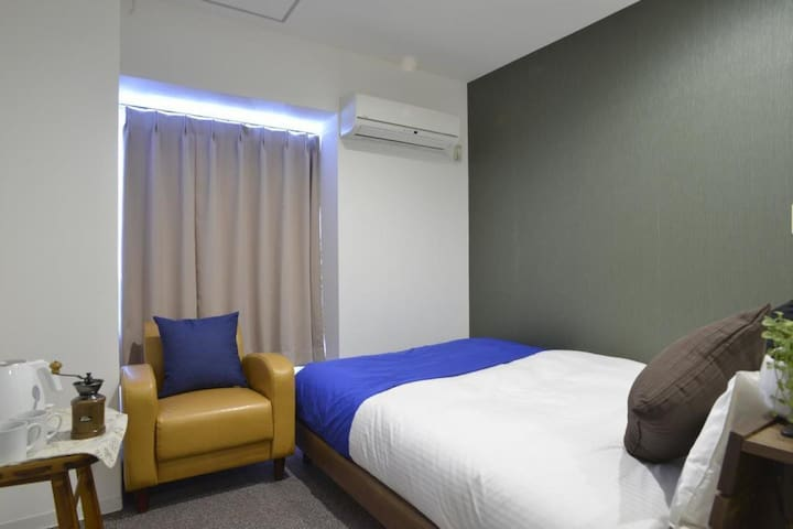 【 Comfort Room】7 minutes walk from Sapporo station, convenient for sightseeing! I live in a room with a kitchen.