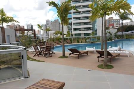Lindo, novo e mobiliado  (aluguel ou temporada) - Brasília - Apartamento