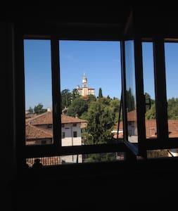 Attico vista Castello con caminetto - Udine - Appartement