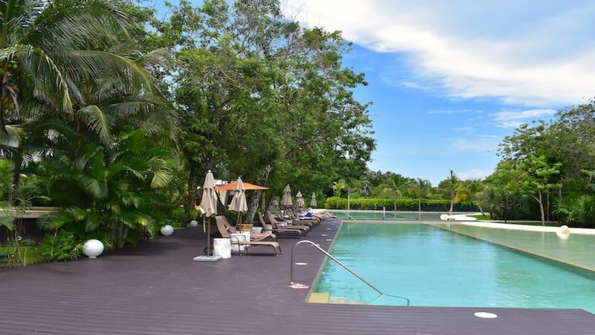 Luxury Studio on ground floor with private pool