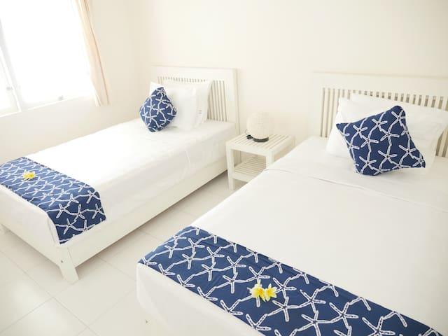 2階のベッドルーム(エアコン)