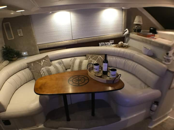 Experience staying on  Luxury Sport Yacht!