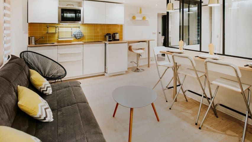 Amazing fashion flat in Montorgeuil