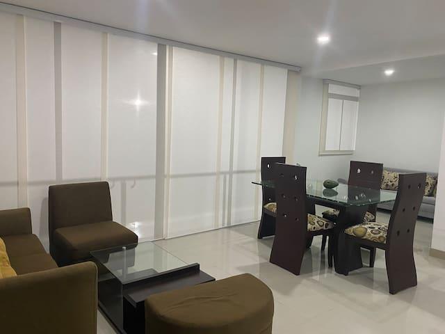 Moderno y  Cómodo apartamento para estrenar