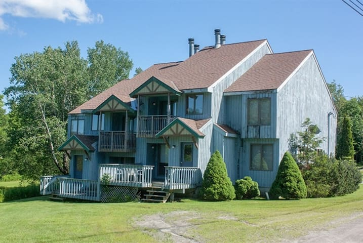 Mount Snow 2 bedroom townhouse with full kitchen