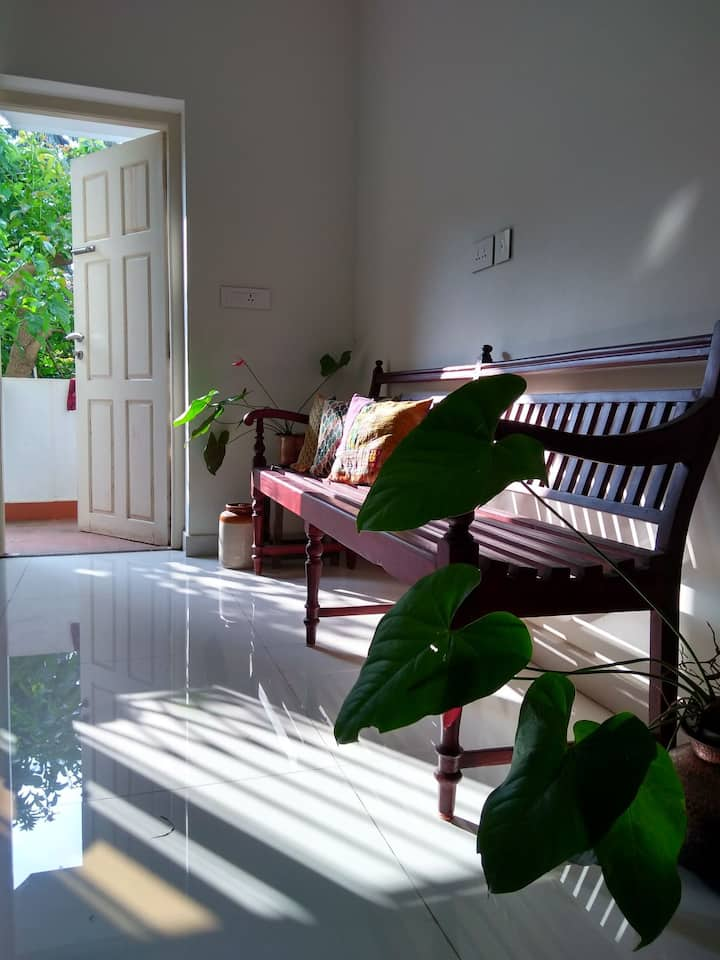 A laid back and serene Mangalorean home