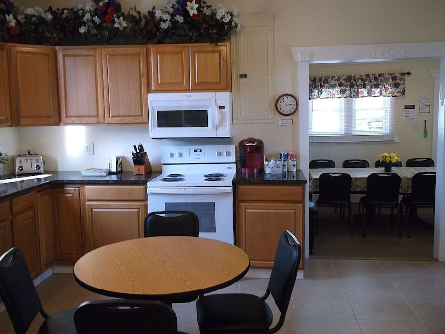 Kitchen with all new appliances!