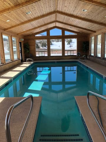 Warm and Cozy Studio Condo with Pool and Hot Tub